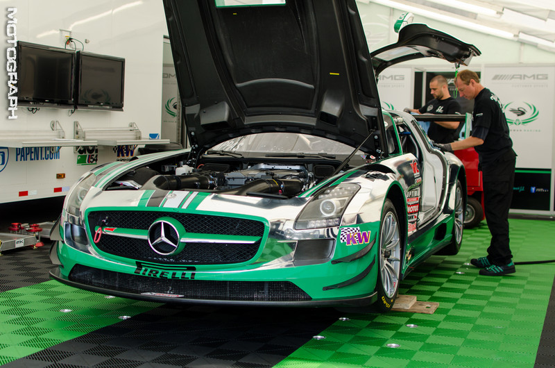 Tim Pappas' Mercedes-Benz AMG SLS Pirelli World Challenge GT car