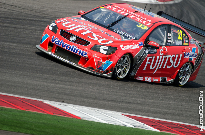 Team Fujitsu Racing GRM driver Scott McLaughlin