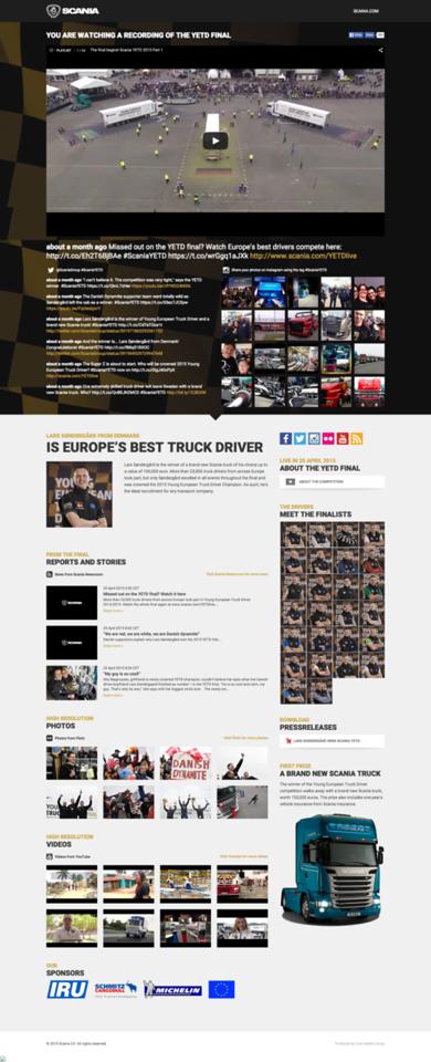 YETD Finals - Young European Truck Driver Finals