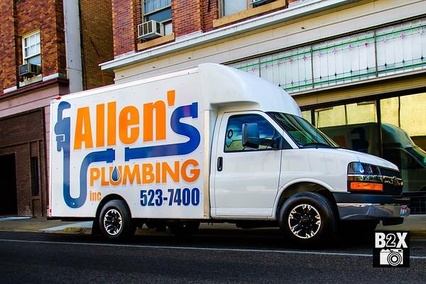 Plumbers in Idaho Falls Allen's Plumbing Van