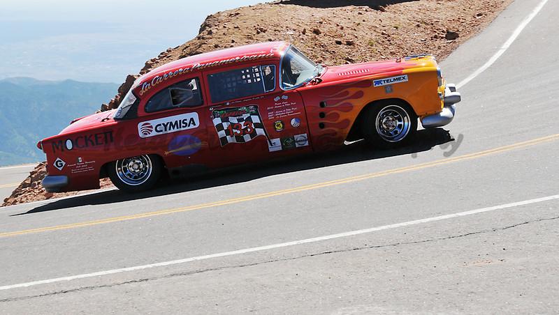 Douglas Mockett - #133 - 1954 Oldsmobile Super 88 - RMVR Modified