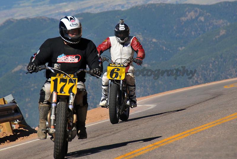 Herbert Wolff - #177 - Vintage Motorcycle<br /> Lloyd Hale - #6 - Vintage Motorcycle