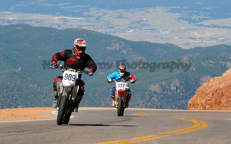 Daniel Perry - #989 - 250 Motorcycle<br /> David Perry - #137 - 250 Motorcycle