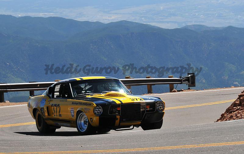 Tony Landon - #372 - 1967 Ford Mustang - RMVR Modified