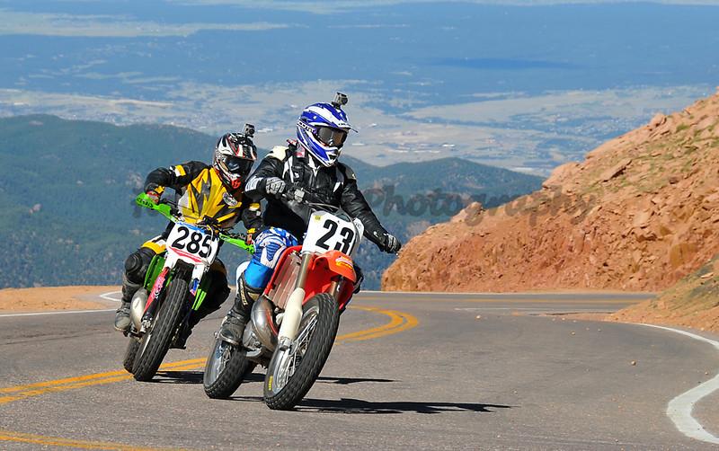Codie Vahsholtz - #285 - 250 Motorcycle<br /> James Buchner - #23 - 250 Motorcycle