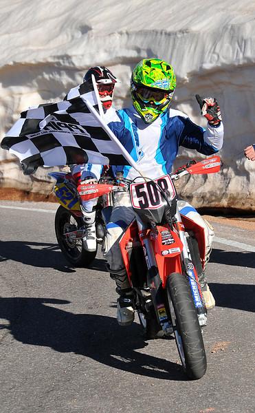 Stuart Sinclair - #508 - 750 Motorcycle Winner