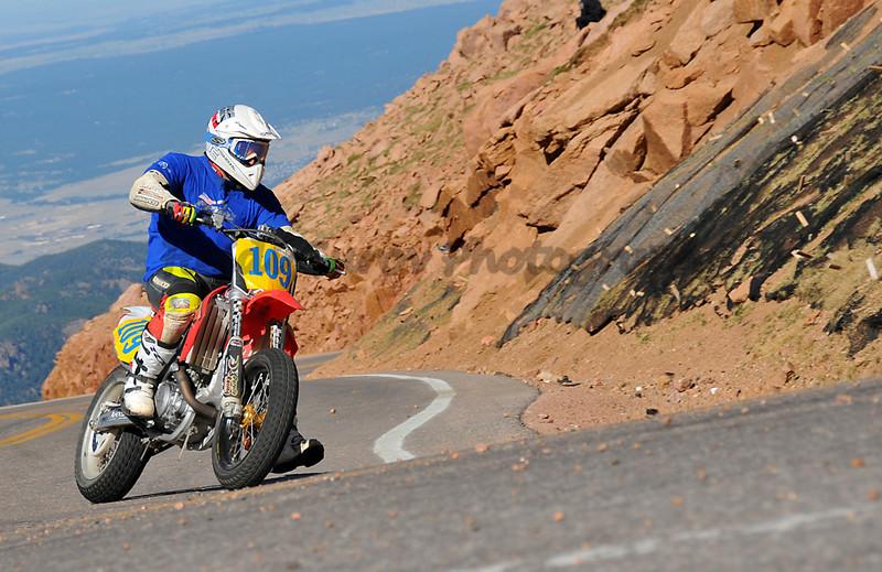 Lorenzo Marchini - #109 - 2006 Honda CRF450 - Super Moto 450