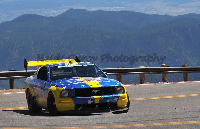 David Schmidt - #26 - 2008 Ford Mustang - Pikes Peak Open