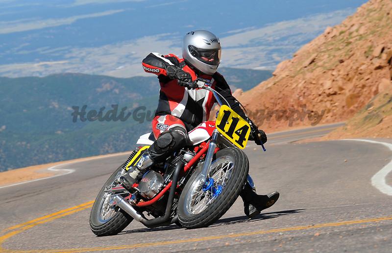 Kevin Magner - #114 - Vintage Motorcycle