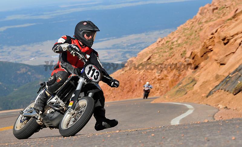 Rusty Wilson - #113 - 750 Motorcycle