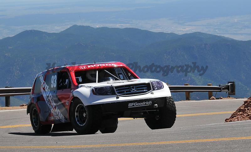 Gavin Skilton - #93 - 2011 Honda Pilot - Pikes Peak Open