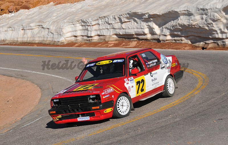 Rogers Matthews - #72 - 1991 Volkswagen Jetta GLI - Time Attack 2WD