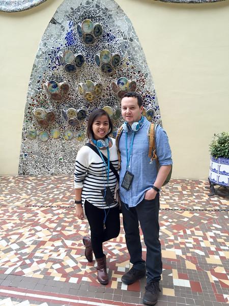 Great audio tour of Casa Batllo. Gives a glimpse into the world of architect Antoni Gaudi.