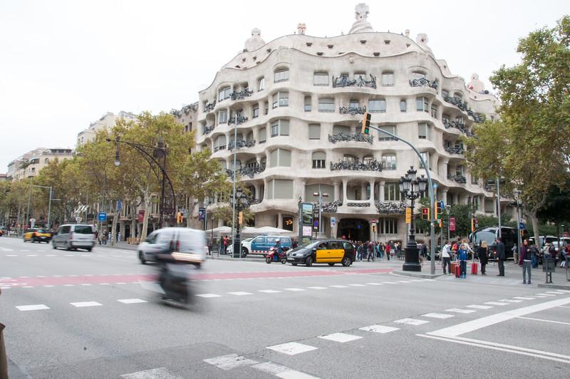 Another Gaudi house - Casa Mila
