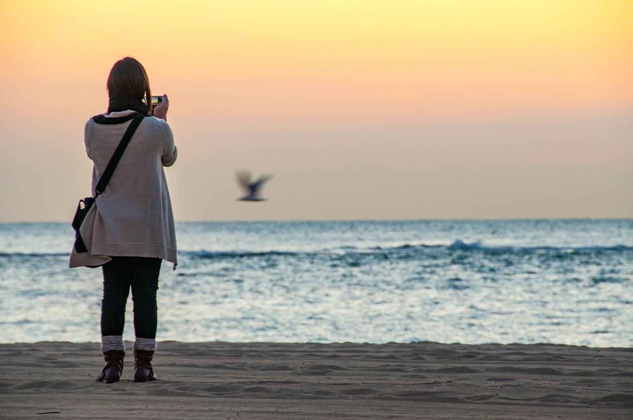 Becelonetta Beach at sunrise