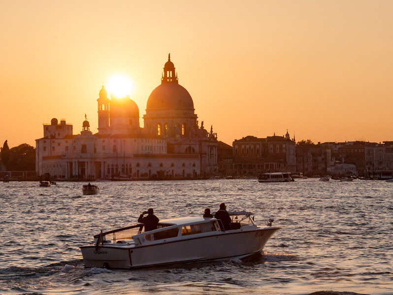Last sunset in Venice