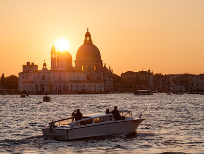Last sunset in Venice