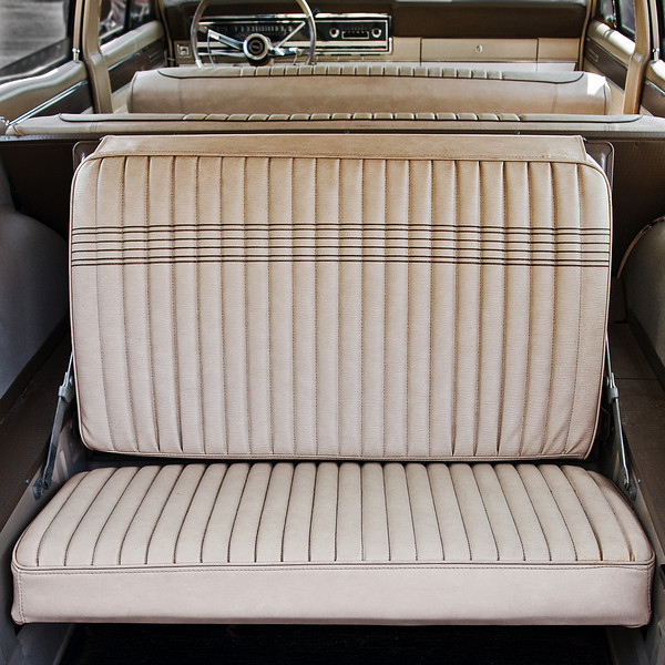 1966 Ford Fairlane Station Wagon - I remember riding (facing backward) in the hide-away rear seat of wagons like this.  What fun!