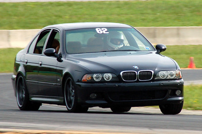 a BMW M5 holds its own