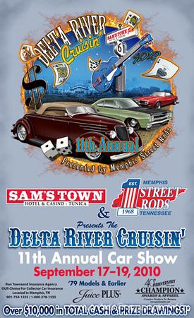 """Delta River Cruisin' "" 2010 Flyer <br /> (downloaded from Internet)"