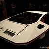 """""""PININFARINA (FERRARI) MODULO (1970)<br /> <br /> Pininfarina S.p.A., Italian, founded 1930, designer & fabricator<br /> Collaboration with Ferrari S.p.A., Italian, founded 1947<br /> Courtesy of Collezione Pininfarina, Cambiano, Turin, Italy <br /> <br /> """"In the late 1960s Ferrari approached Carrozzeria Pininfarina to design the astounding 512 S Modulo concept car, which debuted at the 1970 Salon international de l'automobile Genève (Geneva) at just thirty-seven inches high. At the time, automobile designers and makers were engaged in an ongoing battle to produce the ultimate wedge. This aerodynamic, extreme shape was featured in several earlier concept cars of this era, and soon a competitive race to produce the car with the lowest height ensued.""""<br /> <br /> """"Using a Ferrari 512 S chassis as the starting point, the Modulo's innovations included its two overlapping body shells joined by a waistline band that encircled its width, and its low-slung, trapezoidal shape that positioned the two seats in the center of the car. The futuristic console featuring bowling ball-inspired orbs in line with the wheels resembled no other car interior. Access to the passenger compartment was gained by sliding the entire cupola, including the windshield, along special guides (as shown in the original 1967 Paolo Martin sketch on view nearby). Aerodynamic front skirts limited front wheel travel and were flared out rearward so that the wheels could turn in a small radius.""""<br /> <br /> Reprinted information from here: <a href=""""http://www.high.org/Art/Exhibitions/Dream-Cars.aspx"""">http://www.high.org/Art/Exhibitions/Dream-Cars.aspx</a><br /> <br /> High Museum of Art<br /> 1280 Peachtree Street, N.E. <br /> Atlanta, GA 30309<br /> Official website: <a href=""""http://www.high.org"""">http://www.high.org</a><br /> <br /> (photo taken 7/25/2014)<br /> <br /> My Homepage:  <a href=""""http://www.godschild.smugmug.com"""">http://www.godschild.smugmug.com</a>"""