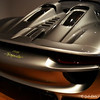 """PORSCHE 918 SPYDER CONCEPT"" (2010)<br /> <br /> Michael Mauer (German, born 1962) and Porsche Design Studio, designers<br /> Porsche Automobil Holding SE, German, founded 1931, manufacturer <br /> Courtesy of Porsche Museum, Stuttgart, Germany <br /> <br /> ""Porsche developed the 918 Spyder Concept Car in 2010 as part of its experiments with how their luxury brand could address consumer interest in green technology, environmental impact, and high performance. The car combines high-tech racing features with electric mobility options selected by a push-button control on the steering wheel. The performance hybrid features four new driving modes for the driver to use: E-Drive, Hybrid, Sport Hybrid, and Race Hybrid. The driver chooses between the four options, from the most green (E-Drive, fully electric) to the maximum, which uses all systems for optimum performance (Race Hybrid). The styling studio implemented the latest technology as well as more tested methods – clay models, scale drawings, and aerodynamic studies for increased efficiency and downforce while at top speeds – to create the forward-thinking hybrid sports car. The car has recently come on the market for consumer purchase.""<br />  <br /> Reprinted information from here: <a href=""http://www.high.org/Art/Exhibitions/Dream-Cars.aspx"">http://www.high.org/Art/Exhibitions/Dream-Cars.aspx</a><br /> <br /> High Museum of Art<br /> 1280 Peachtree Street, N.E. <br /> Atlanta, GA 30309<br /> Official website: <a href=""http://www.high.org"">http://www.high.org</a><br /> <br /> (photo taken 7/25/2014)<br /> <br /> My Homepage:  <a href=""http://www.godschild.smugmug.com"">http://www.godschild.smugmug.com</a>"
