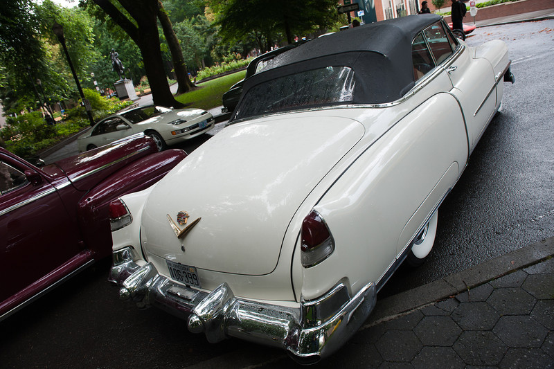July 16, 2011 - Multnomah Hot Rod Club    <br /> 1953 Cadillac (My favorite of the day)