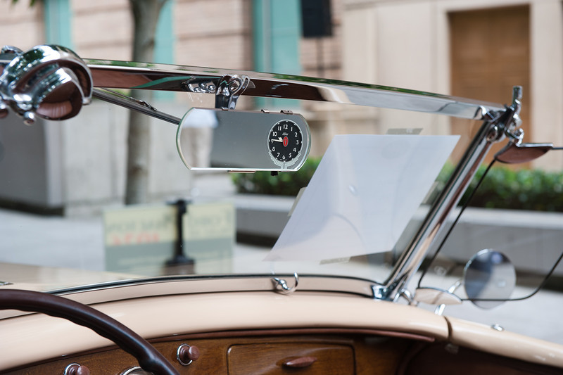 July 30, 2011 - Ford<br /> 1936 Phaeton  (interesting clock location)