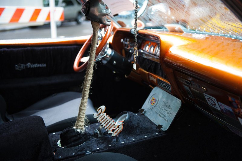 """July 16, 2011 - Multnomah Hot Rod Club   <br /> """"Ratty Caddy"""" - pretty unusual but creative Cadillac."""