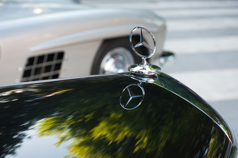 July 23, 2011 - Mercedes and BMW<br /> 1955 M-B 220 Cabriolet A