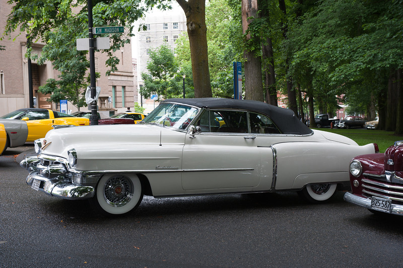 July 16, 2011 - Multnomah Hot Rod Club    <br /> 1953 Cadillac