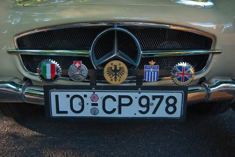 July 23, 2011 - Mercedes and BMW<br /> 1958 M-B 190 SL