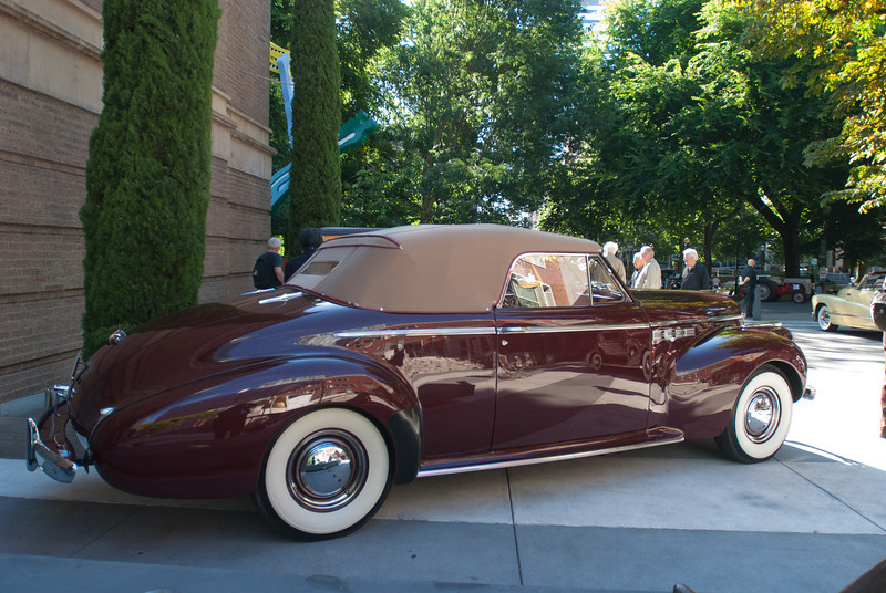 July 9, 2011 - American Vintage (all photos by Deby)<br /> 1936 Pierce Arrow
