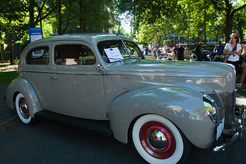 July 9, 2011 - American Vintage (all photos by Deby)<br /> 1940 Ford 2-door Deluxe