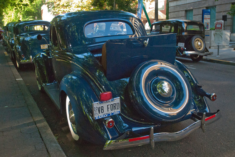 July 9, 2011 - American Vintage (all photos by Deby)<br /> 1936 Ford early V8