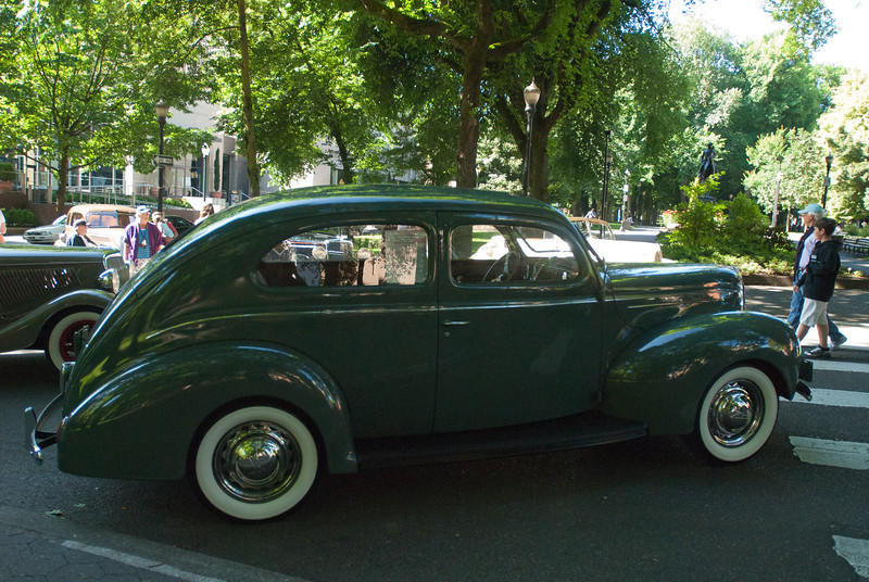 July 9, 2011 - American Vintage (all photos by Deby)<br /> 1939 Ford Delux 2-door Sedan
