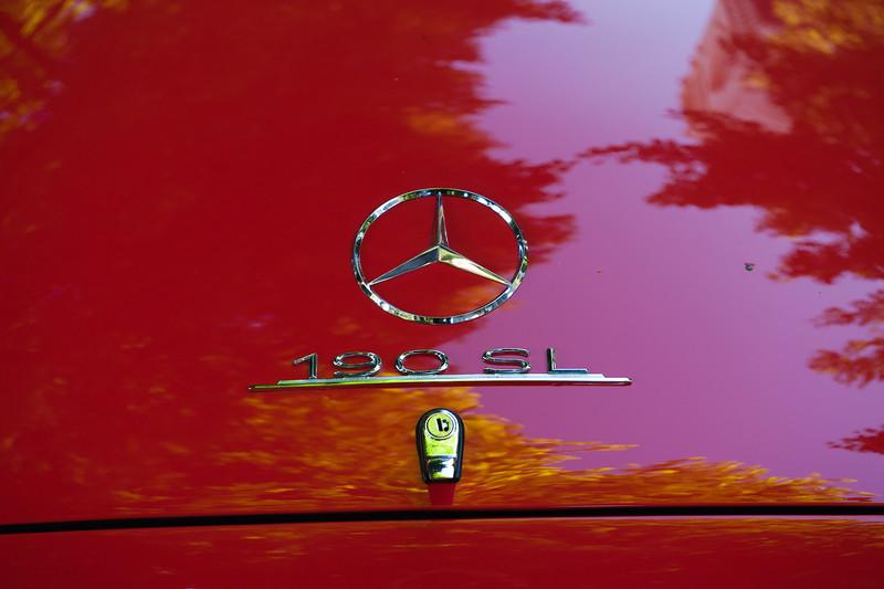 July 23, 2011 - Mercedes and BMW<br /> 195? M-B 190 SL
