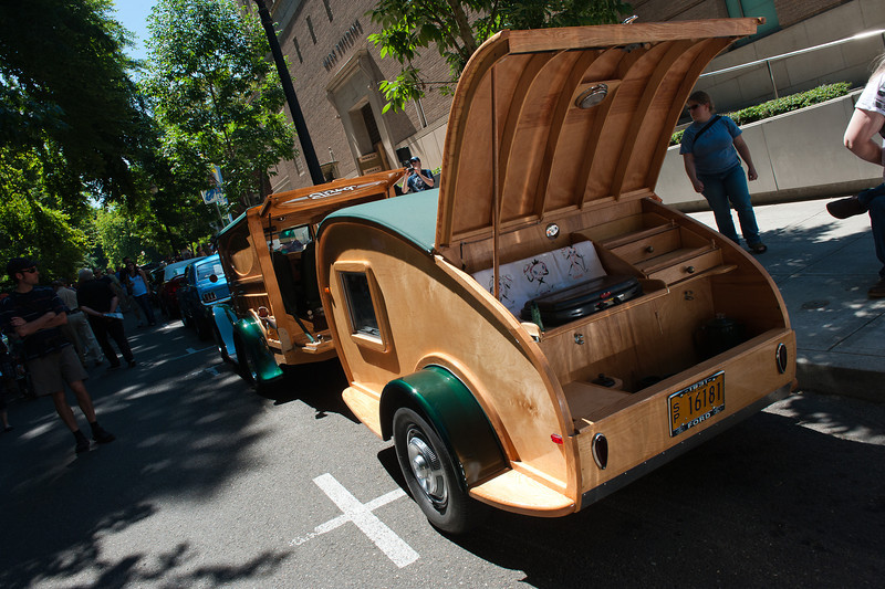 July 30, 2011 - Ford<br /> 1931 Woody and trailer