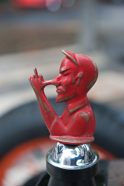 July 16, 2011 - Multnomah Hot Rod Club    <br /> Great radiator cap ornament!!
