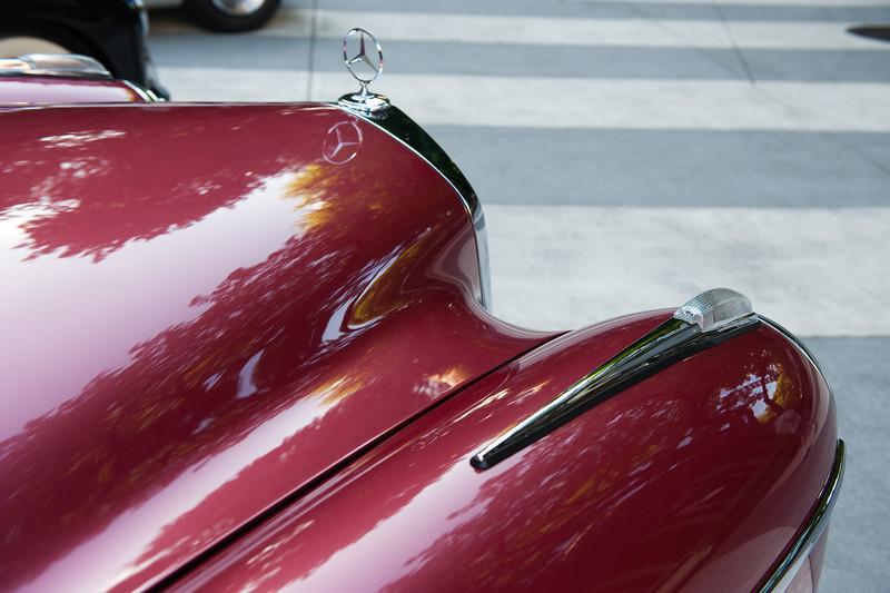 July 23, 2011 - Mercedes and BMW<br /> 1959 M-B 220 SE Cabriolet