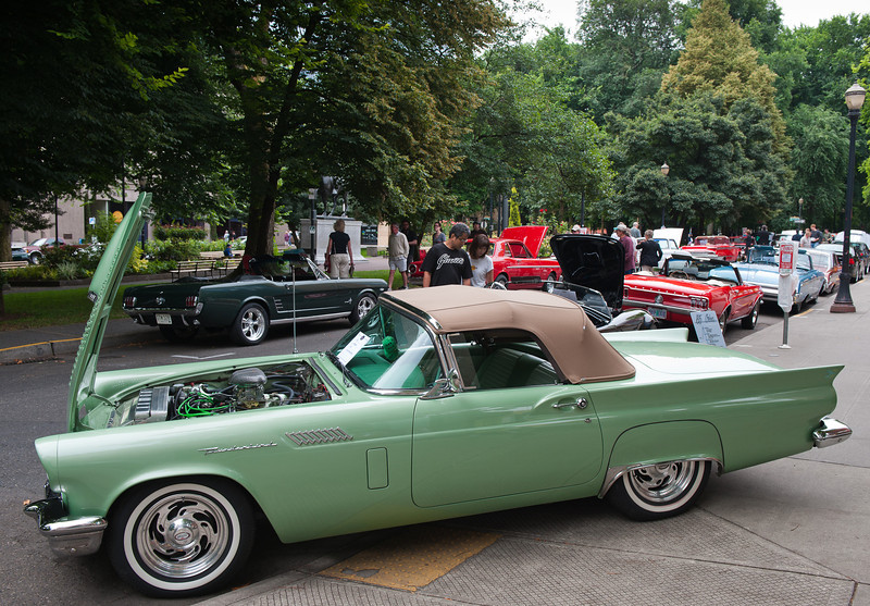 July 30, 2011 - Ford<br /> 1957 Thunderbird (with Cadillac engine!)
