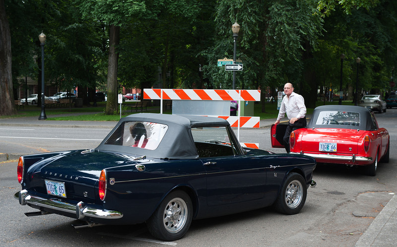 July 30, 2011 - Ford<br /> 1965 and 1966 Sunbeam Tiger Mk II's