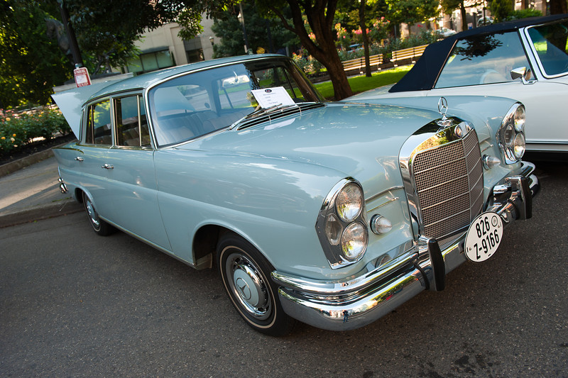 July 23, 2011 - Mercedes and BMW<br /> 1964 220 SB