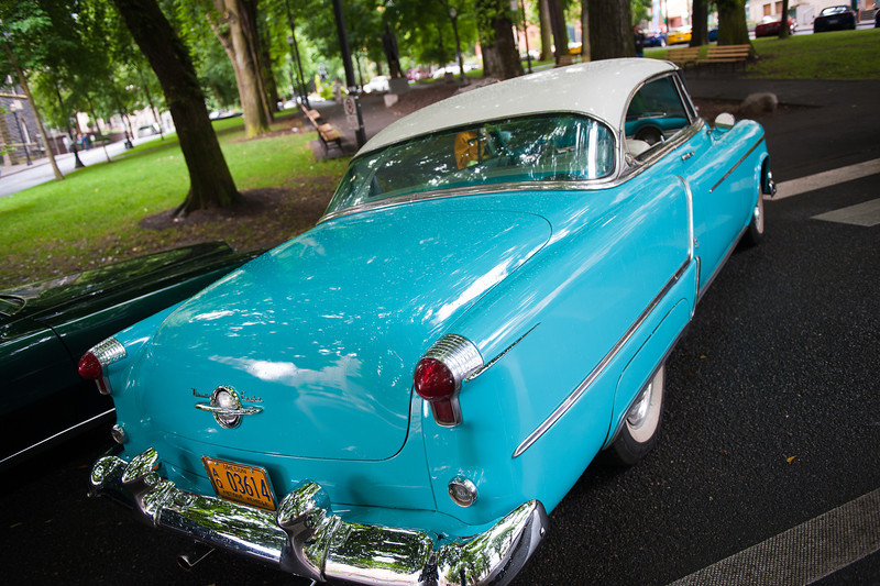 July 16, 2011 - Multnomah Hot Rod Club    <br /> 1953 Oldsmobile 98