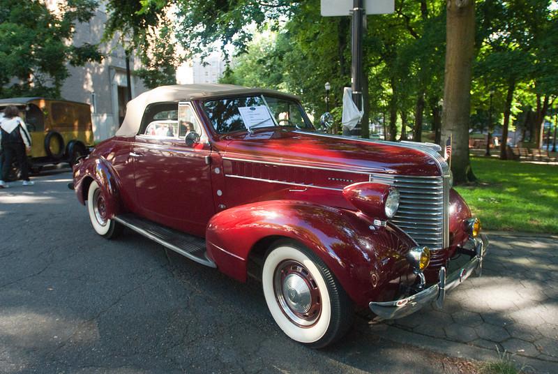 July 9, 2011 - American Vintage (all photos by Deby)<br /> 1938 Pontiac 2-door Cabriolet