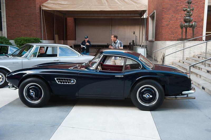 July 23, 2011 - Mercedes and BMW<br /> 1958 BMW 507