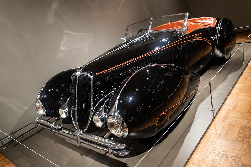 1938 Delahaye 133 M Roadster