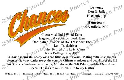 Chances hero card back
