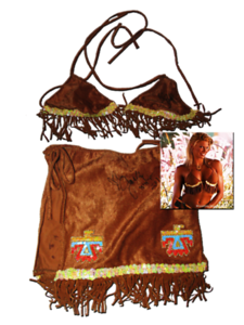 Jackie Gayda Autographed WWE Photoshoot Worn Outfit