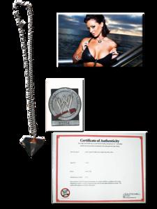 Candice Michelle WWE Summer Skin Photoshoot Worn Necklace